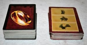 Lot of Replacement Game Cards - Risk Lord Of The Rings Game Trilogy Edition 2003