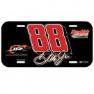Dale Earnhardt Jr. Black #88 License Plate