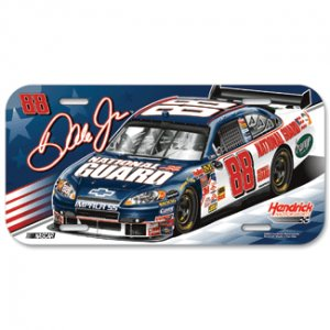 Dale Earnhardt Jr. National Guard #88 License Plate
