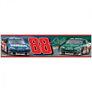 New for 2008 Dale Earnhardt Jr. Bumper Stikcer