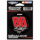 Dale Earnhardt Jr. Round #88 Decal - BLACK