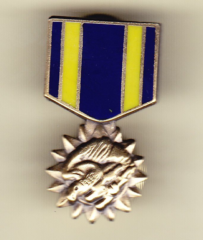 Air Medal Hat Pin