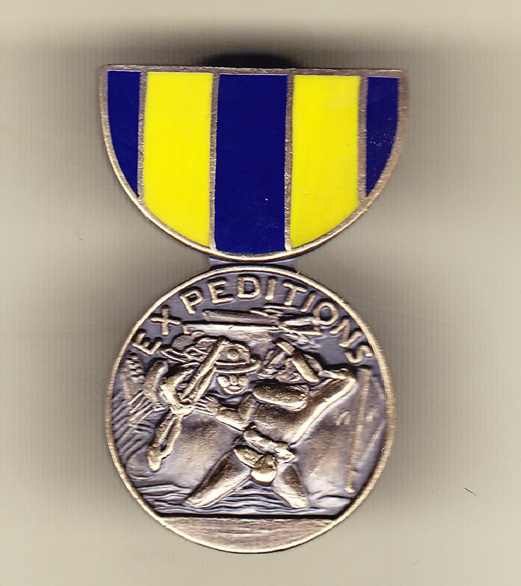 Navy Expeditionary Medal Hat Pin