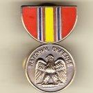 National Defense Service Medal Hat Pin