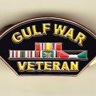 Gulf War Veteran Hat Pin