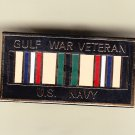 Gulf War Veteran Navy Hat Pin