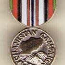 Afghanistan Camaign Medal Hat Pin