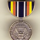 Global War Terrorism Service Medal Hat Pin