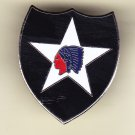 2nd Infantry Division Hat Pin