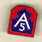 5th Army Hat Pin