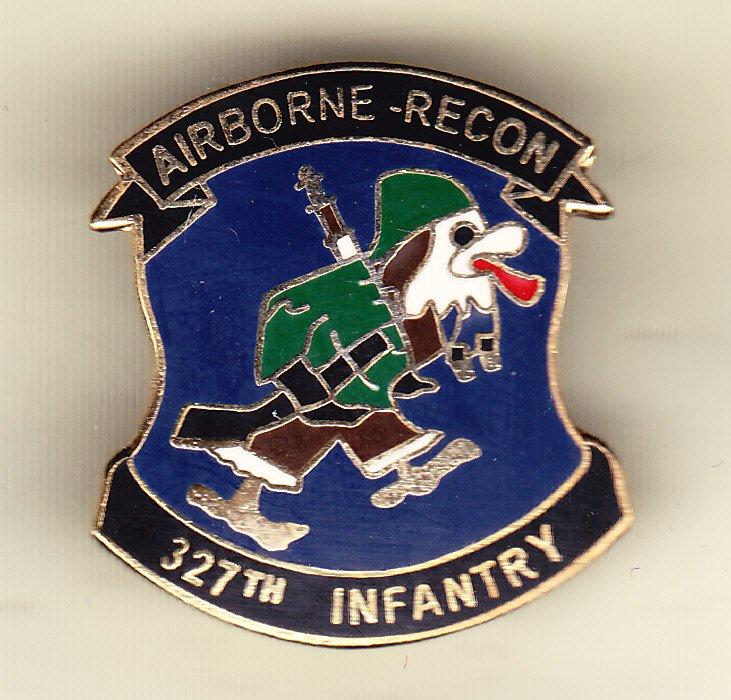 327th Airborne Regiment Hat Pin