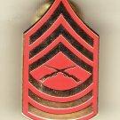 E-8 Marine MSGT Hat Pin