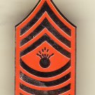 E-9 Marine MGYSGT Hat Pin