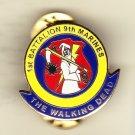 1st Battalion 9th Marines Walking Dead Hat Pin