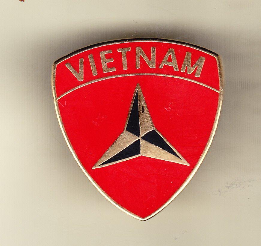3rd Marine Division Vietnam Hat Pin