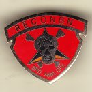 3rd Marine Recon Hat Pin