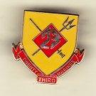 23rd Marine Regiment Hat Pin