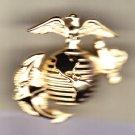 Marine Globe & Anchor Hat Pin