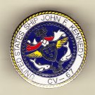 USS John F Kennedy CV-67 Hat Pin