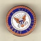 Navy Great Lakes Hat Pin