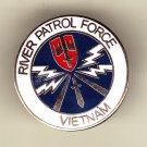 River Patrol Force Hat Pin