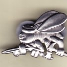Seabees Cutout Emblem Hat Pin