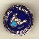 Seal Team Four Hat Pin