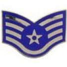 E-5 Air Force SSgt Hat Pin