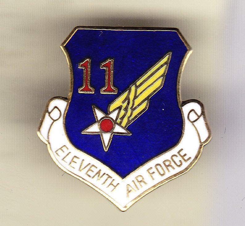 11th Air Force Hat Pin