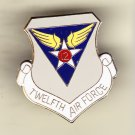 12th Air Force Hat Pin