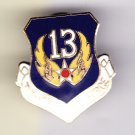 13th Air Force Hat Pin