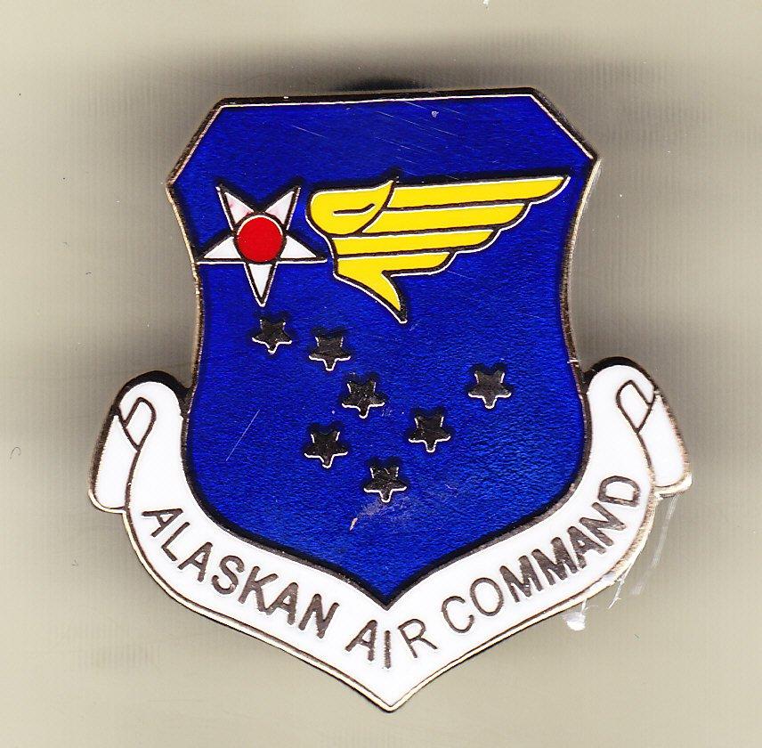 Alaska Air Command Hat Pin
