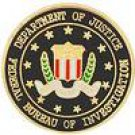 Federal Bureau of Investigation (FBI) Hat Pin