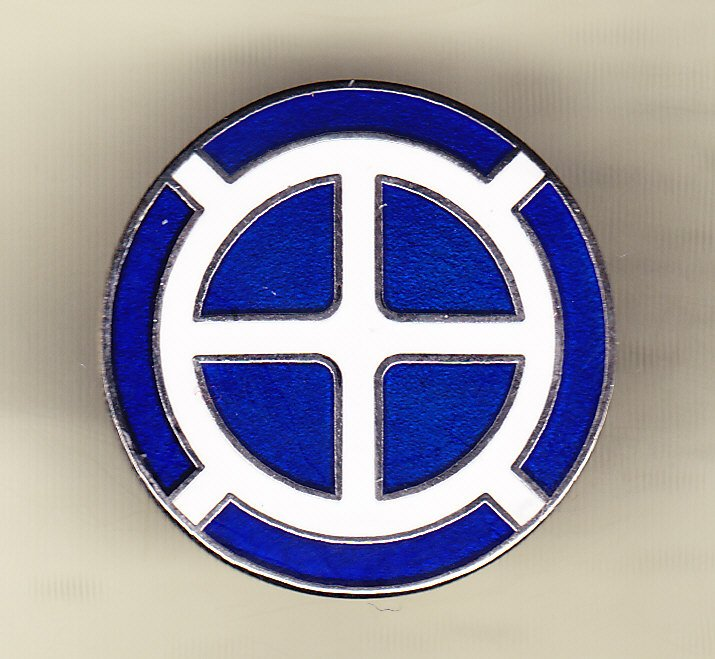 35th Infantry Division Hat Pin