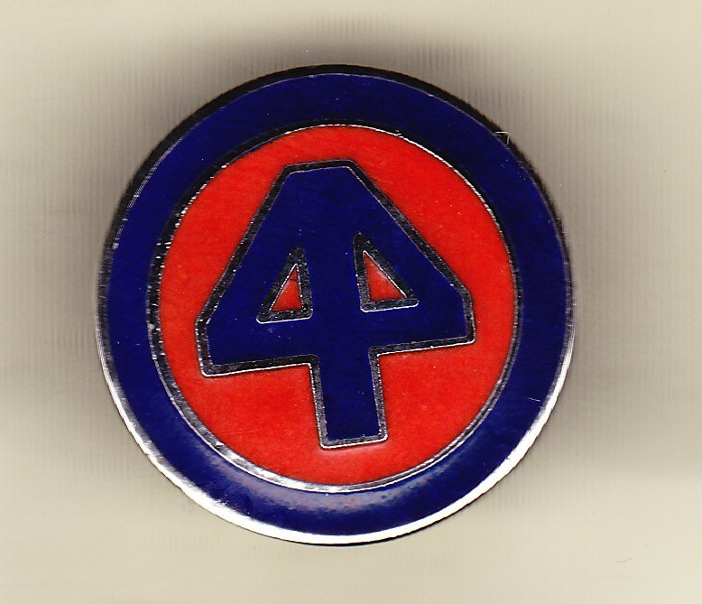 44th Infantry Division Hat Pin
