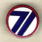 71st Infantry Division Hat Pin