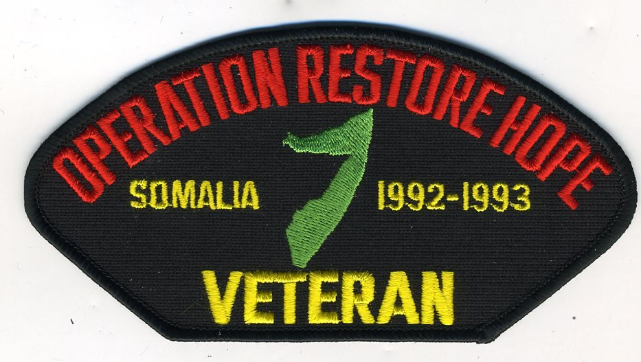Operation Restore Hope (Somalia) Hat Patch Only
