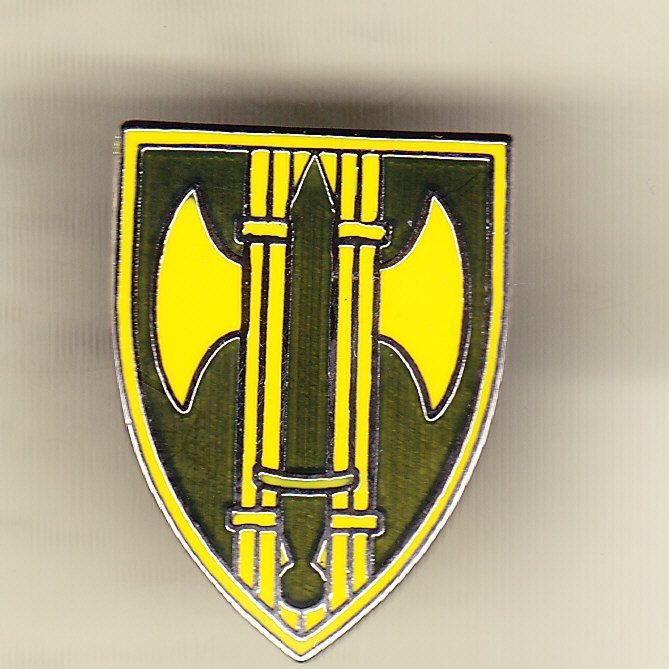 18th Military Police Brigade Hat Pin