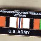 Afghanistan (Enduring Freedom) Veteran Army Hat Pin