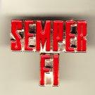 SEMPER FI Hat Pin