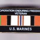 Afghanistan (Enduring Freedom) Veteran Marine Hat Pin