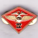 4th Marine Air Wing Hat Pin