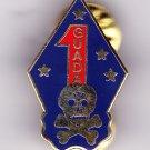 1st Marine Division LRRP Hat Pin