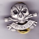 Death or Glory Hat Pin