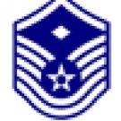 E-7 Air Force MSgt /w Diamond Hat Pin