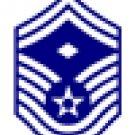 E-8 Air Force SMSgt w/Diamond Hat Pin