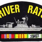 River Rats Vietnam HAT PATCH ONLY