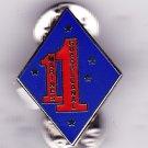 1st Marine Regiment Hat Pin