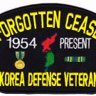 The Forgotten Cease Fire Korea HAT PATCH ONLY
