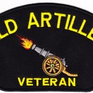 Field Artilley Veteran HAT PATCH ONLY